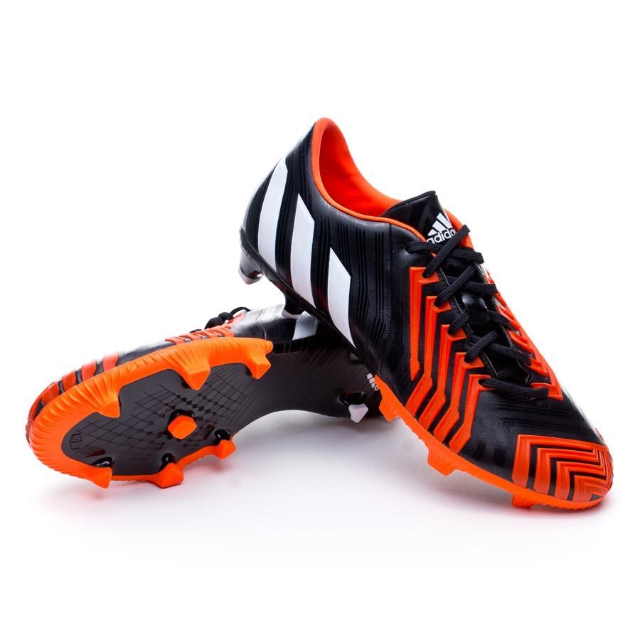 b0a9c57d9c24 Football Boots adidas Predator Absolion Instinct FG Black-Solar red ...