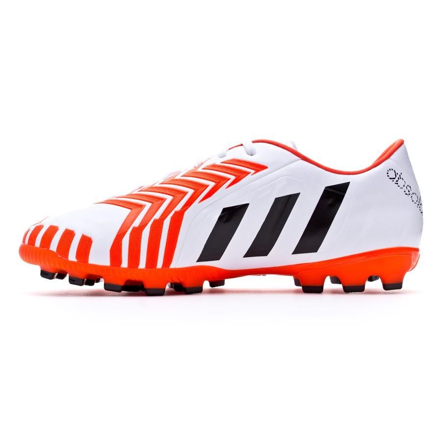 release date: 7447a 8053e Boot adidas Predator Absolado Instinct AG White-Solar red - Football store  Fútbol Emotion