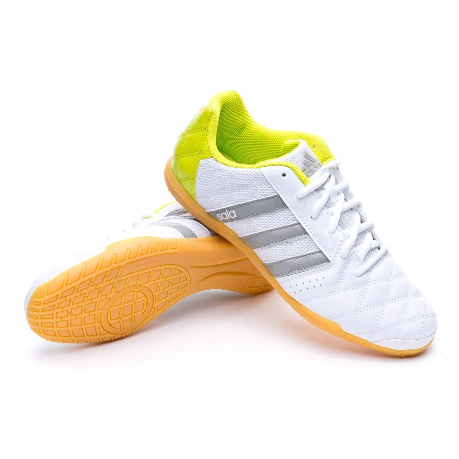 a7349c9d42478 Futsal Boot adidas Supersala White-Solid grey-Solar yellow ...