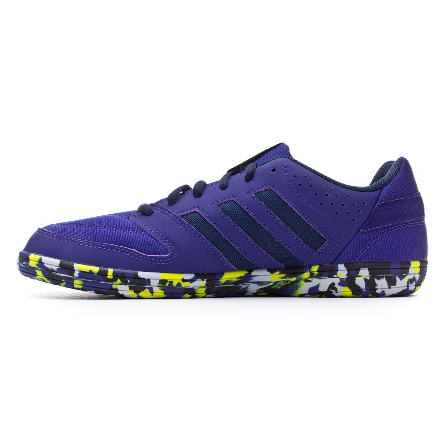 2aa3c6701bda5 Futsal Boot adidas Janeirinha Amazon purple-Collegiate navy - Tienda de fútbol  Fútbol Emotion