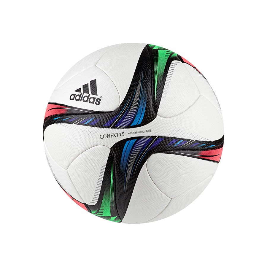 369bd1c932cf2 Bola de Futebol adidas Conext 15 OMB White-Night flash-Flash green-Black -  Loja de futebol Fútbol Emotion
