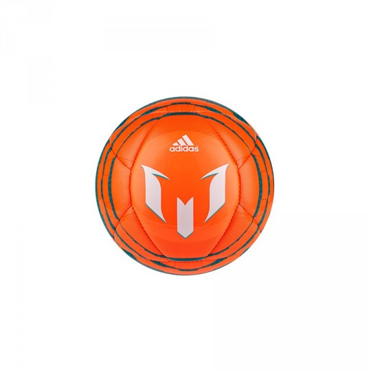 Bola de Futebol  adidas Mini Messi 10 Laranja-Verde