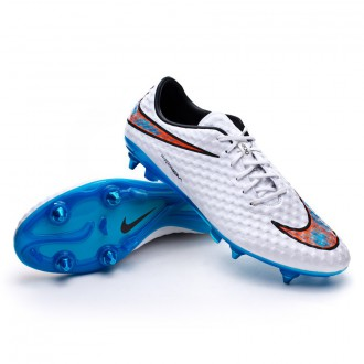 Hypervenom Phantom SG-Pro ACC White-Total crimson-Blue lagoon