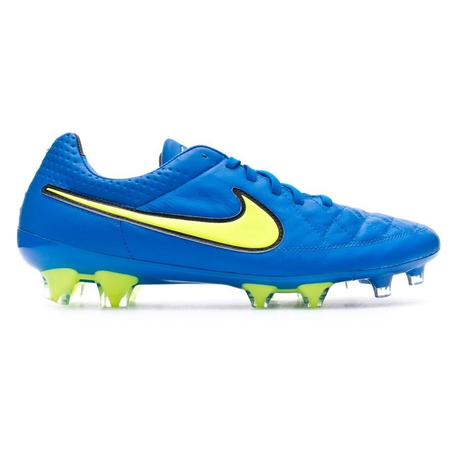 wholesale dealer 5420b e6d80 Football Boots Nike Tiempo Legend V FG ACC Soar-Volt-Black - Tienda de  fútbol Fútbol Emotion