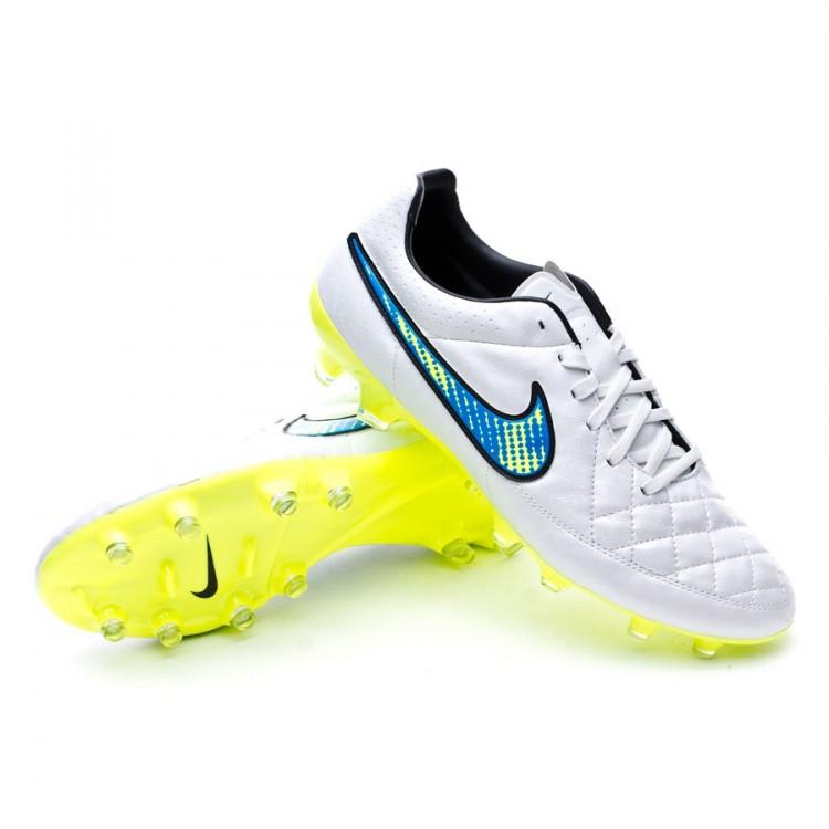 Bota de fútbol Nike Tiempo Legacy FG White-Volt-Soar-Black ... 140a697df98ca