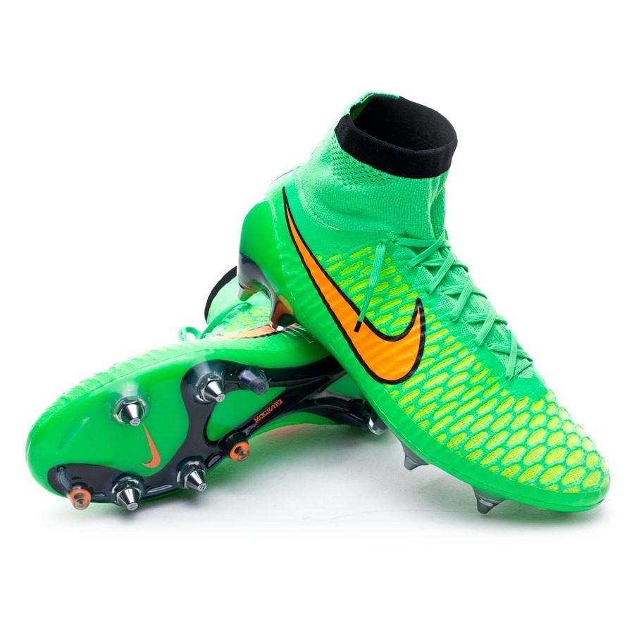 ... where to buy bota de fútbol nike magista obra sg pro acc poison green  total orange fd194ac79674b