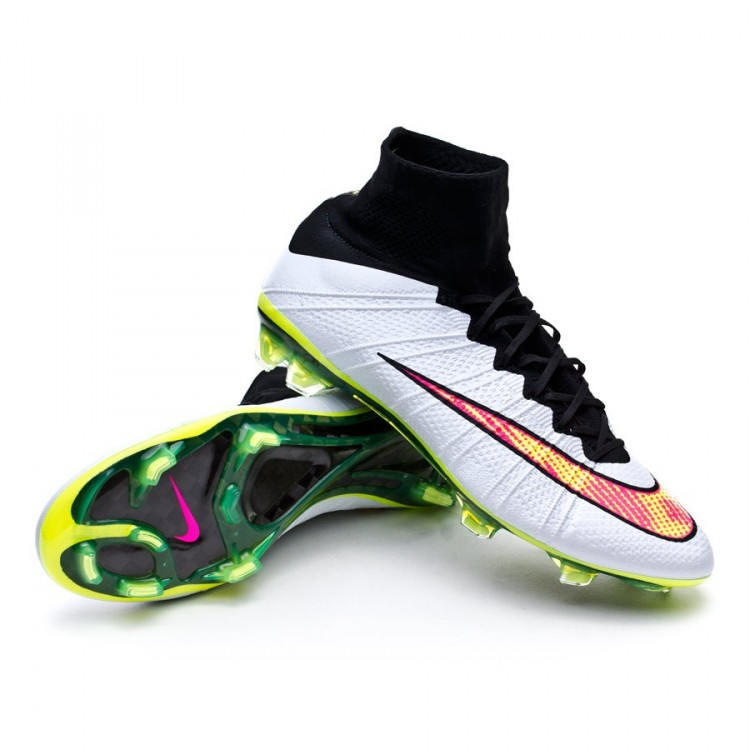 wholesale dealer 7e674 fe5cf Football Boots Nike Mercurial Superfly FG ACC White-Volt ...