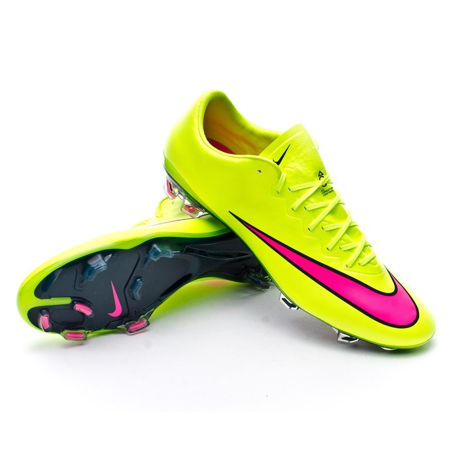 nike mercurial vapor x superfly fg volt hyper pink black. Black Bedroom Furniture Sets. Home Design Ideas