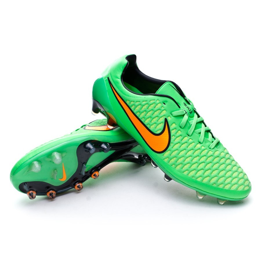 cb3944f3517 Nike Magista Opus FG ACC Football Boots. Poison green-Total orange-Black ...