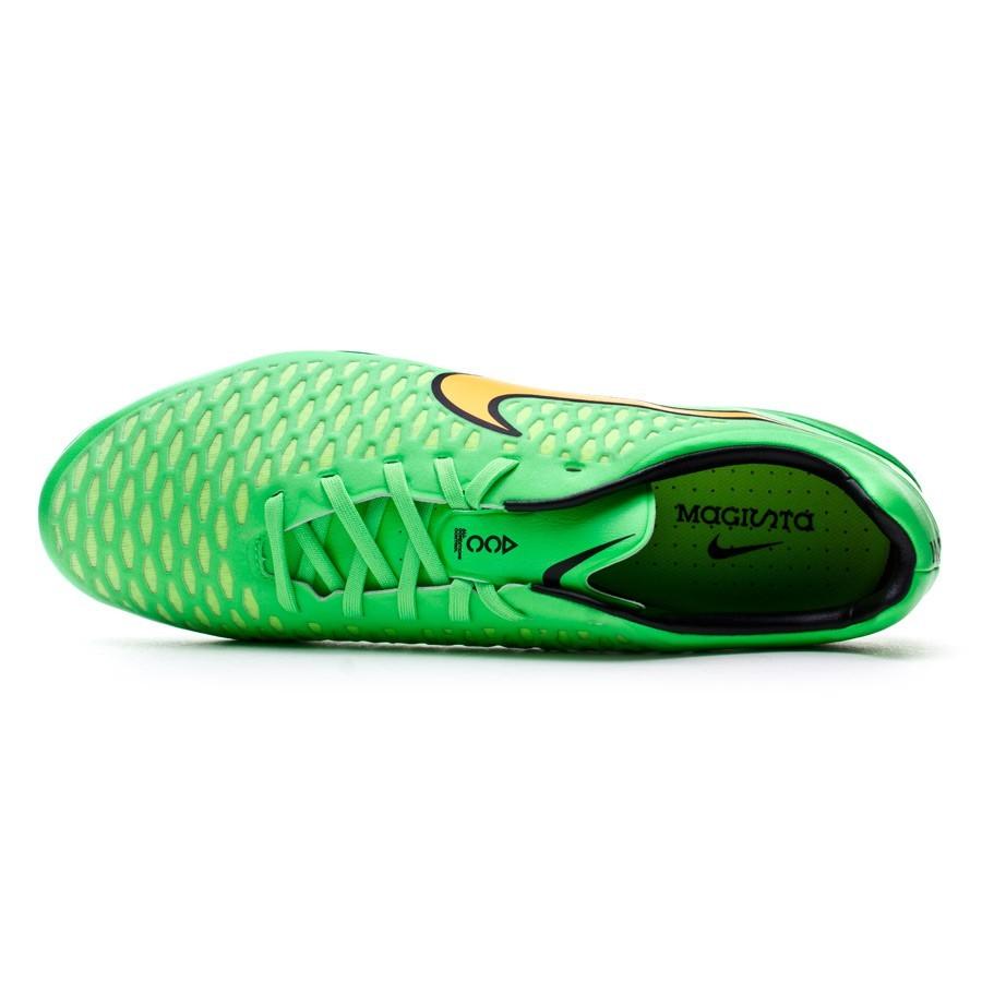 Chuteira Nike Magista Opus SG-Pro ACC Poison green-Total orange-Black -  Loja de futebol Fútbol Emotion 7397de16ac3c1