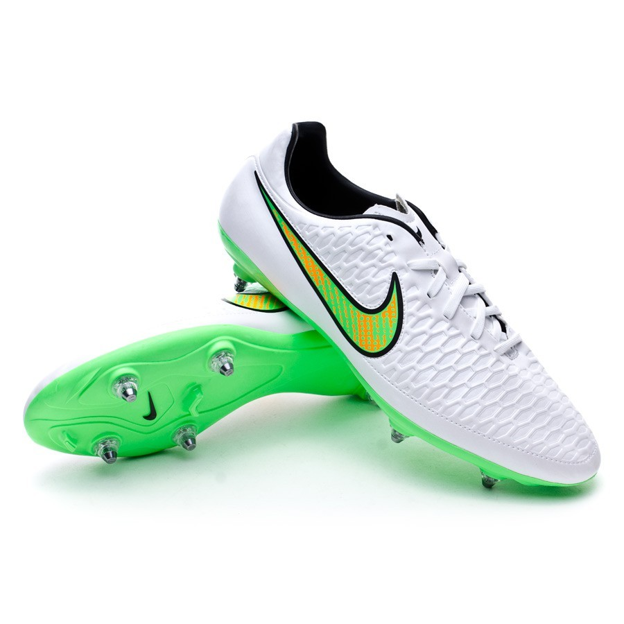 reputable site bf066 38d23 ... new style boot nike magista onda sg white poison green black total  orange c78ba 82550