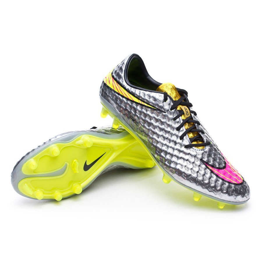 boot nike hypervenom phantom premium fg acc chrome hyper. Black Bedroom Furniture Sets. Home Design Ideas