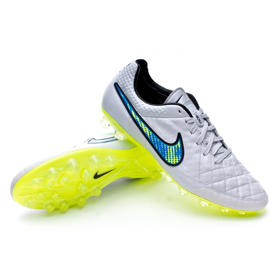 Boot Nike Tiempo Legend V AG-R ACC White-Volt-Soar-Black - Football ... 8de59d4f6a0a