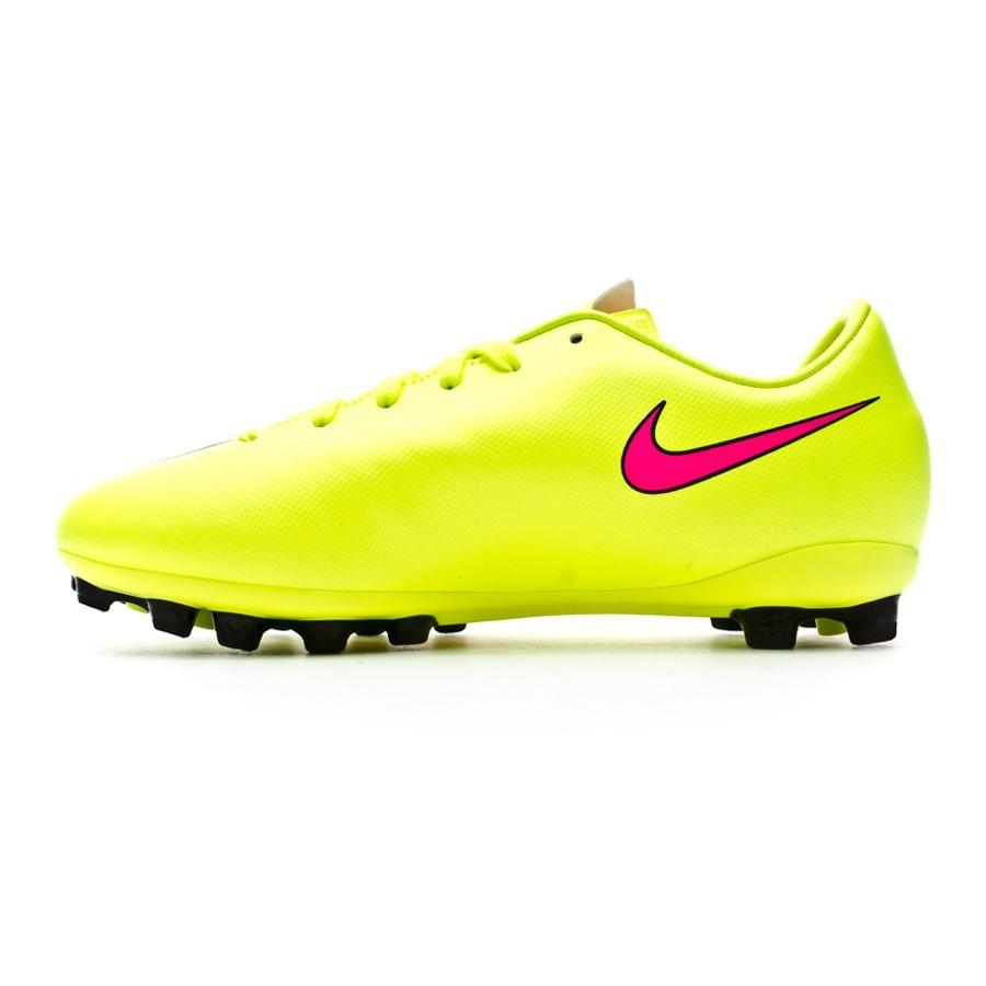 timeless design 04c77 32d90 Football Boots Nike Jr Mercurial Victory V AG Volt-Hyper pink-Black -  Tienda de fútbol Fútbol Emotion