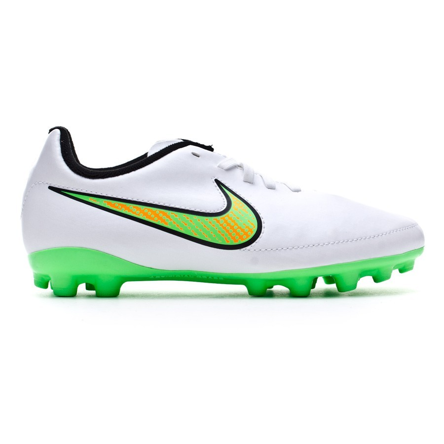 new styles 3a3dd 95d32 Chaussure de foot Nike Jr Magista Onda AG White-Poison green-Black-Total  orange - Boutique de football Fútbol Emotion