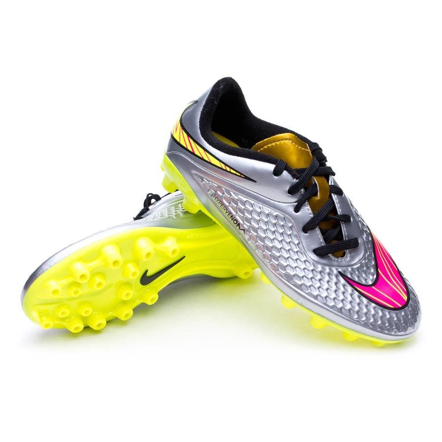 separation shoes 160b3 fae81 ... shoes 33abe 8ff85  new zealand bota de fútbol nike hypervenom phelon  premium ag niño chrome hyper pink metallic gold