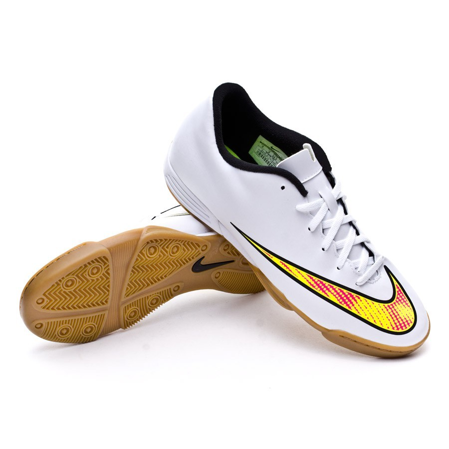 ced917fbf114 ... promo code for futsal boot nike mercurial vortex ii ic white volt black  hyper pink football