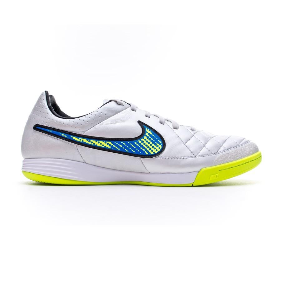 961ecb9b38e4c Futsal Boot Nike Tiempo Legacy IC White-Volt-Soar-Black - Football store  Fútbol Emotion