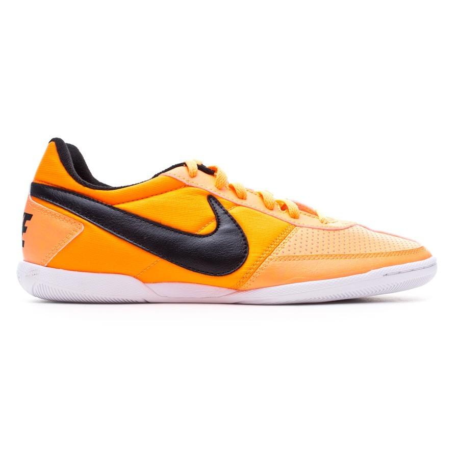 toca el piano Porque Estricto  Futsal Boot Nike Davinho Atomic orange-Total orange-White - Football store  Fútbol Emotion