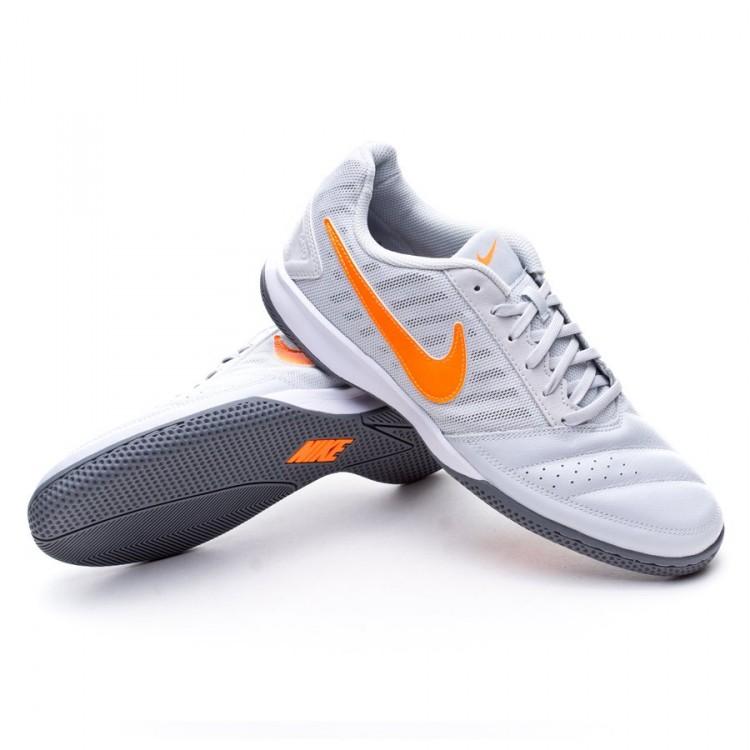 2900dce5045 Futsal Boot Nike Gato II Platinium-Total orange-White-Cool grey ...