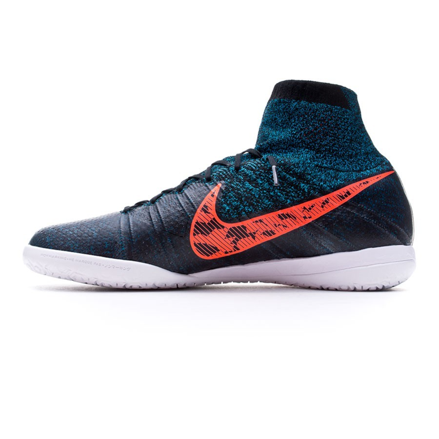 1e75daf26a291 Zapatilla Nike Elastico Superfly IC Black-Total crimson-Blue lagoon-Dark  grey - Tienda de fútbol Fútbol Emotion