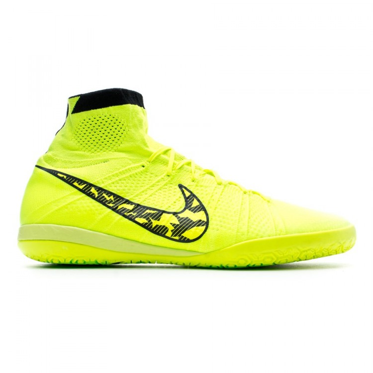 Absoluto acceso azufre  Futsal Boot Nike Elastico Superfly IC Volt-Black - Football store Fútbol  Emotion