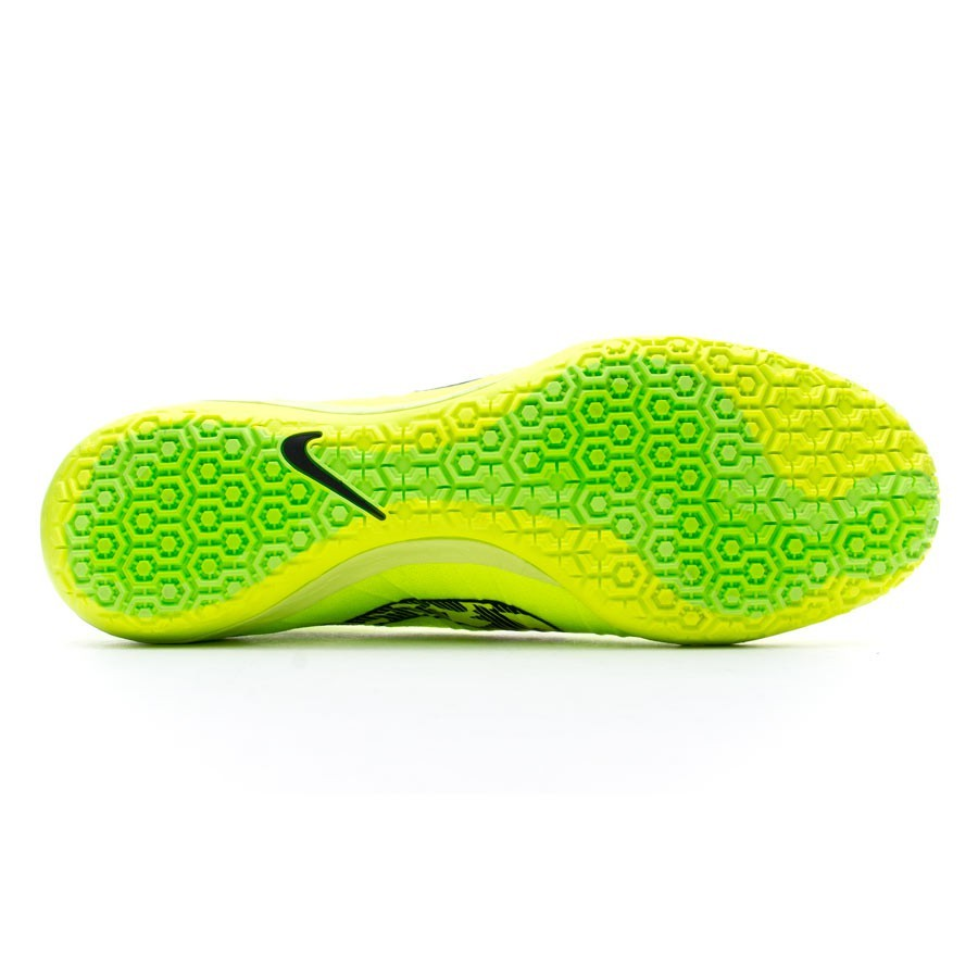 online retailer 2070e fcd02 Futsal Boot Nike Elastico Superfly IC Volt-Black - Football store Fútbol  Emotion
