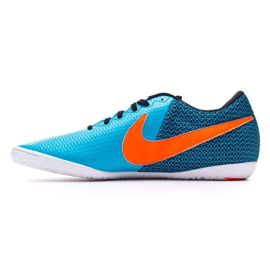 d751e7443 Futsal Boot Nike Elastico Pro III IC Blue lagoon-Total crimson-Black-White  - Football store Fútbol Emotion
