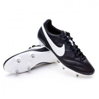 Chuteira  Nike Tiempo Premier SG Black-White