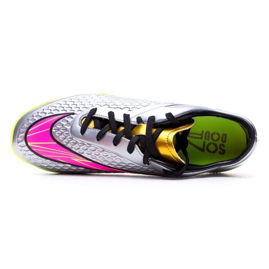 promo code 8a319 cb01b Futsal Boot Nike Hypervenom Phelon Premium IC Chrome-Hyper ...