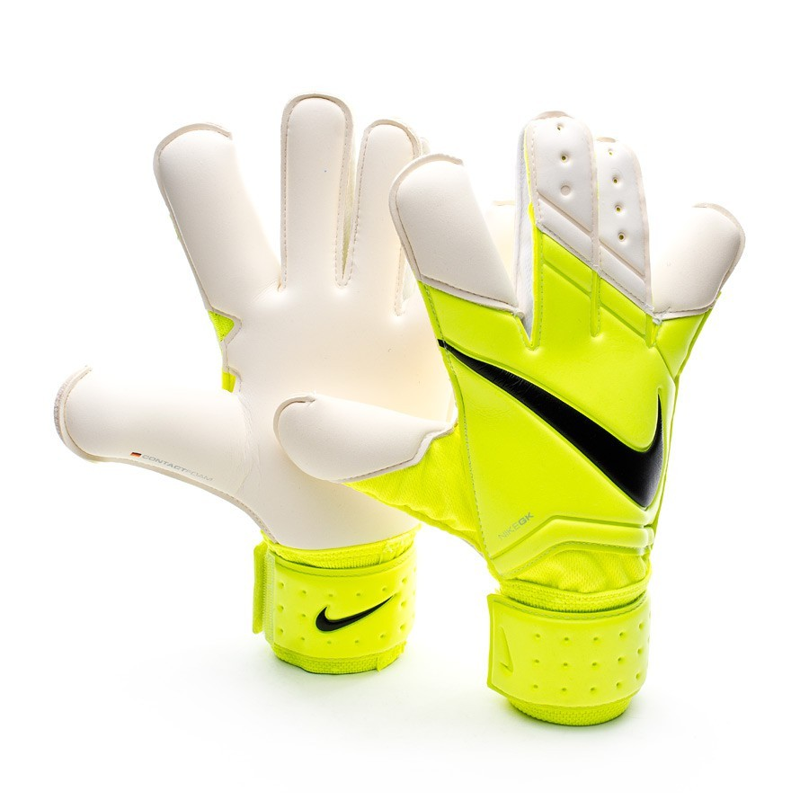 gant nike vapor grip 3 volt white boutique de football f tbol emotion. Black Bedroom Furniture Sets. Home Design Ideas