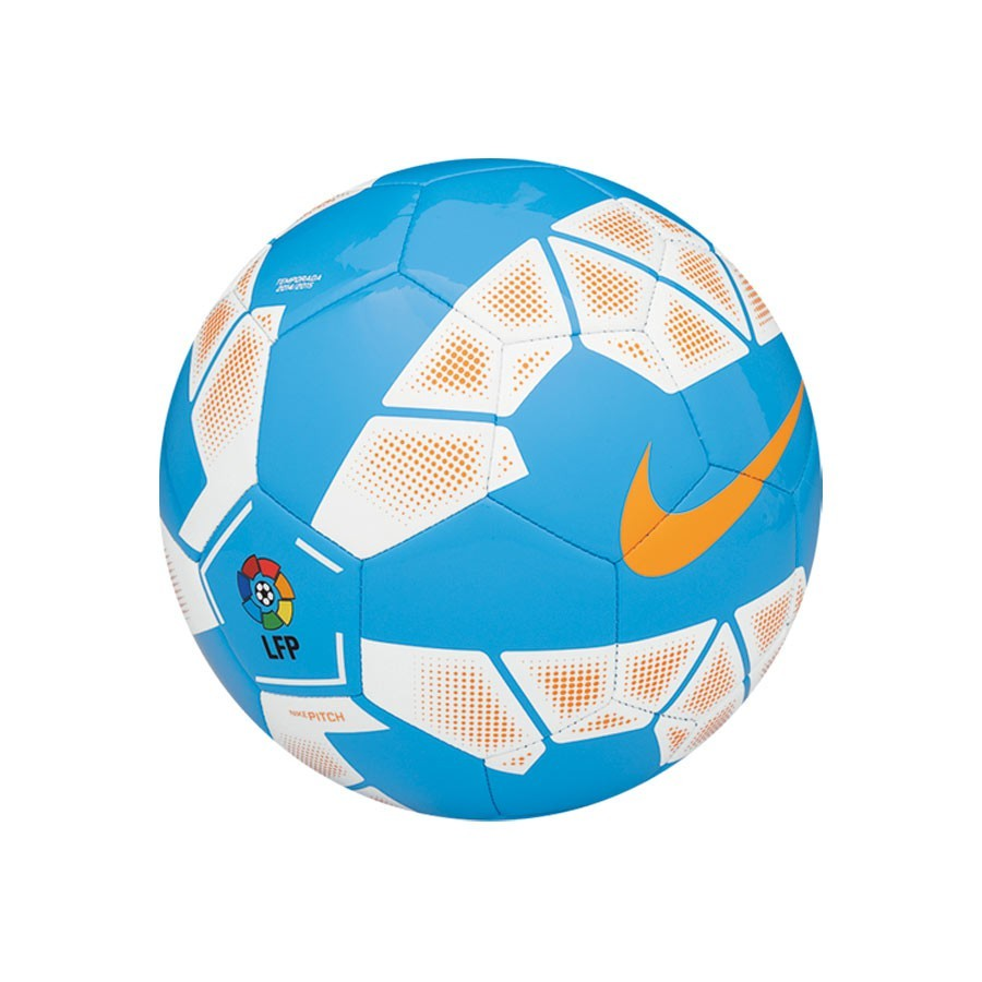 Ball Nike Pitch LFP Blue-Orange - Football store Fútbol Emotion 40db880799851