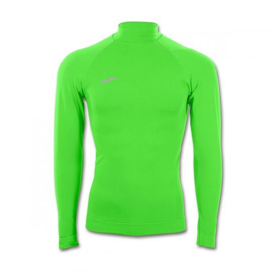 Camisola  Joma Térmica M/L Brama Classic Verde Flúor
