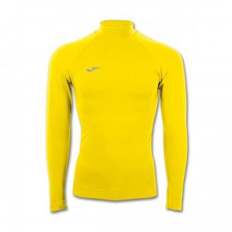 Camiseta  Joma Térmica M/L Brama Classic Amarilla