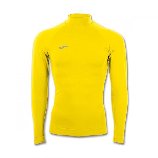 Camisola  Joma M/L Brama Termica Amarelo