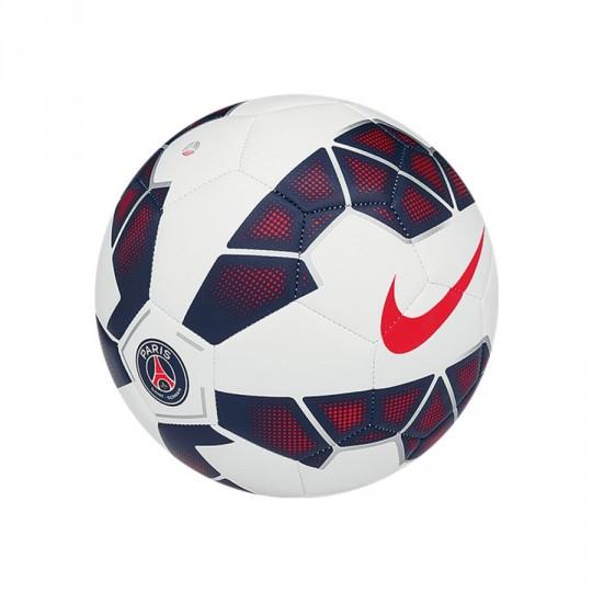 e2314130ce Bola de Futebol Nike PSG Prestige Branco-Royal-Vermelho - Loja de futebol  Fútbol Emotion
