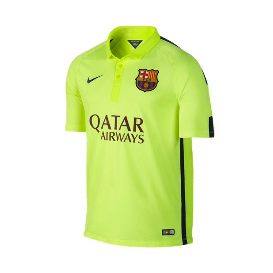 ... Camiseta FC Barcelona Tercera Equipación equipación Volt ice-Volt-Loyal  blue. CATEGORY c22ec6c2f4e1e