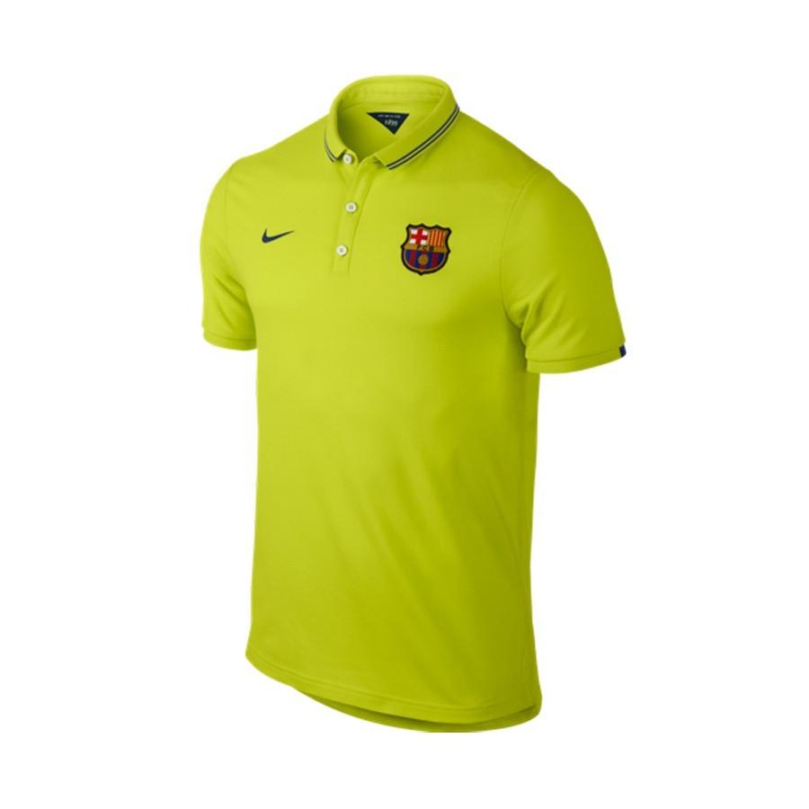 3525c3eb Polo shirt Nike FC Barcelona League Authentic 2014-2015 Cyber-Blue ...