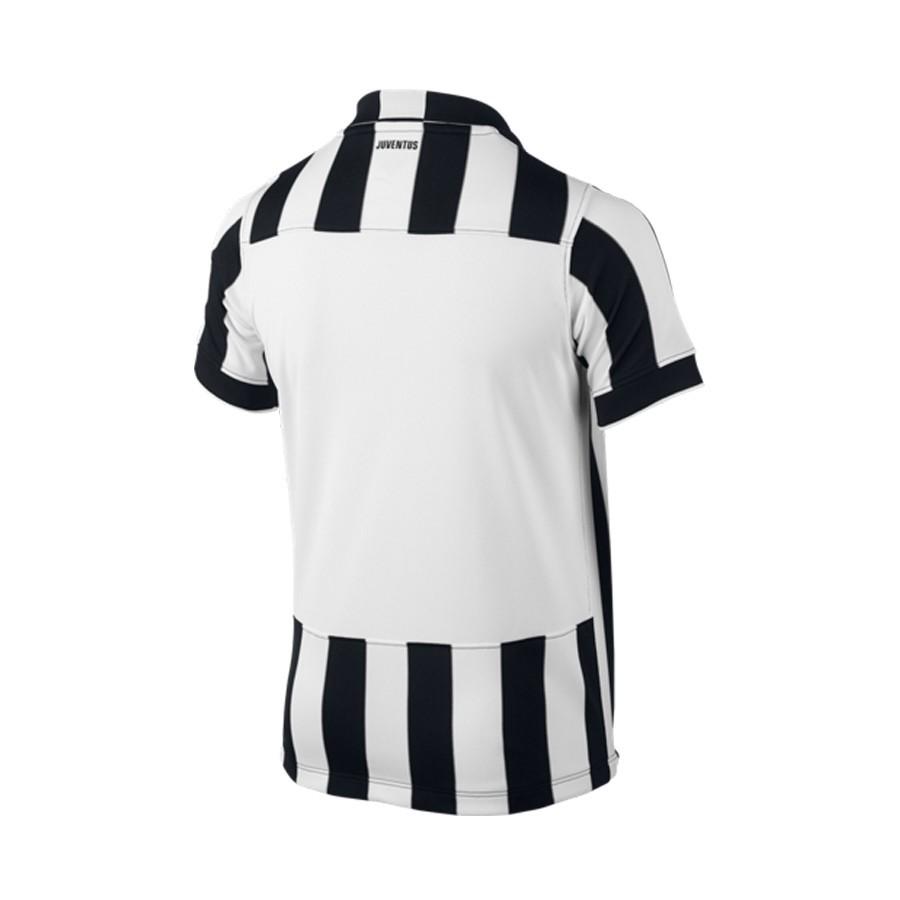 Jersey Nike Juventus FC Stadium 2014-2015 White-Black - Football store  Fútbol Emotion 2fa5ae07a7a08