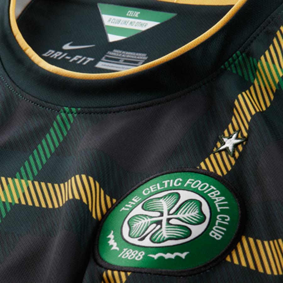 ... Camiseta Celtic FC Segunda Equipación Stadium 2014-2015 Verde Oscuro.  CATEGORIA. Produtos oficiais 6ff8e66e839c1