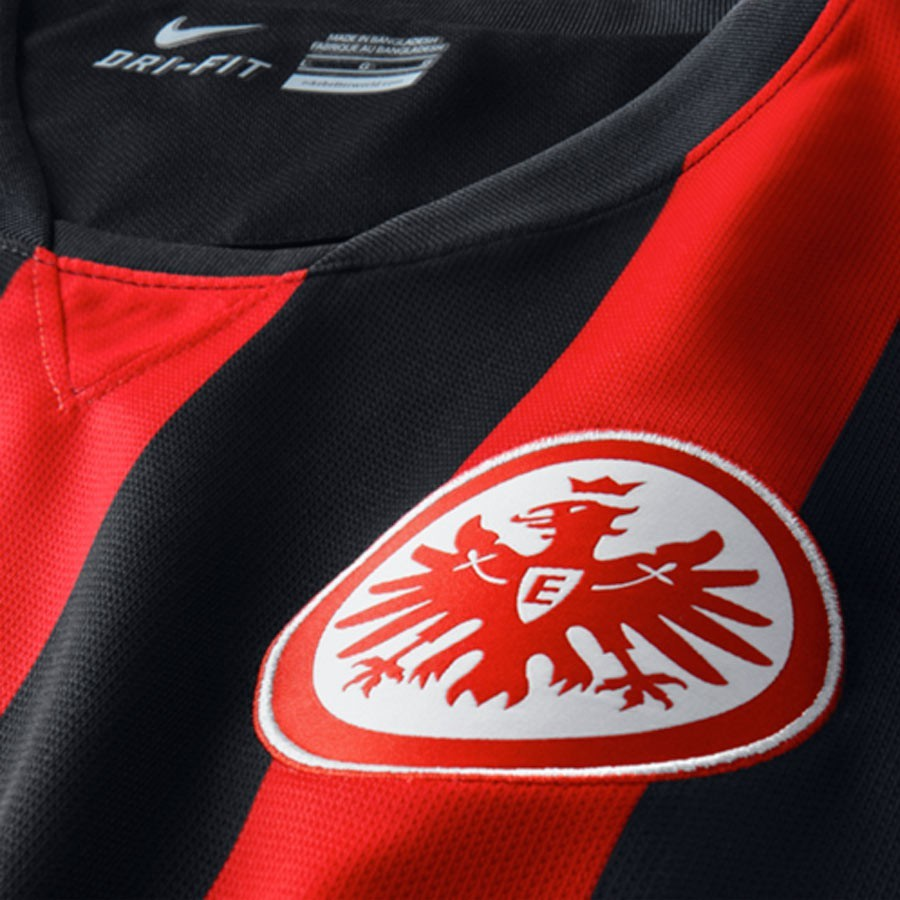 jersey nike sg eintracht frankfurt home 2014 2015 red. Black Bedroom Furniture Sets. Home Design Ideas