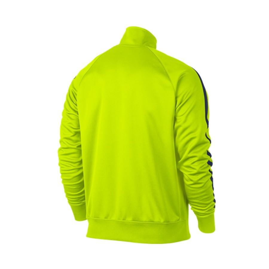 30c8a1e61aa4b Jacket Nike FC Barcelona Core Trainer 2014-2015 Volt - Football store  Fútbol Emotion