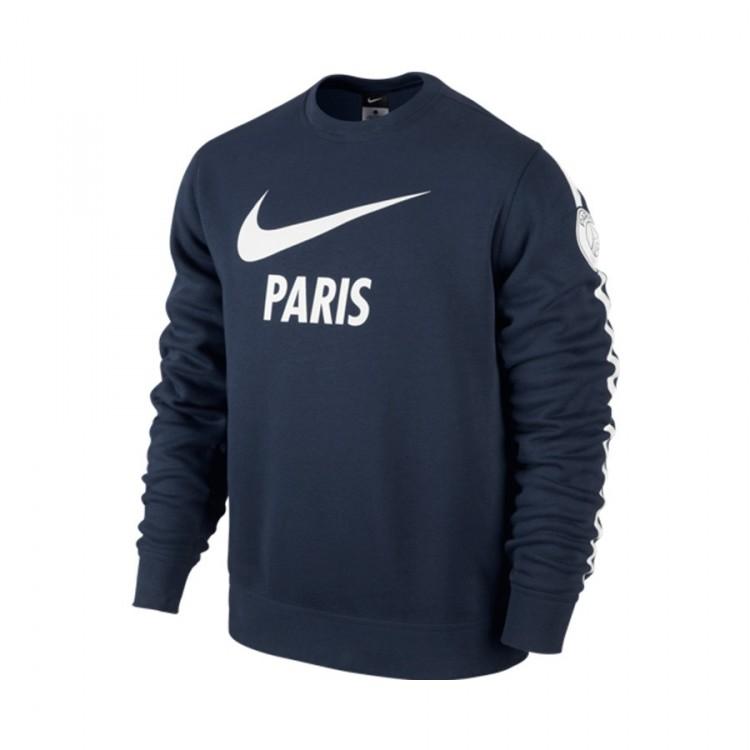 Bleu Paris Nike Crew Core Club 2015 Marine Sweat Saint Germain 2014 ZzdwzxH