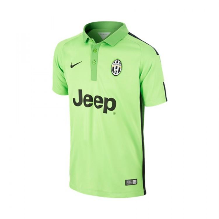 Jersey Nike Juventus FC Flash Colour Stadium 2014-2015 Green-Black ... b5a96b6d7ecb5