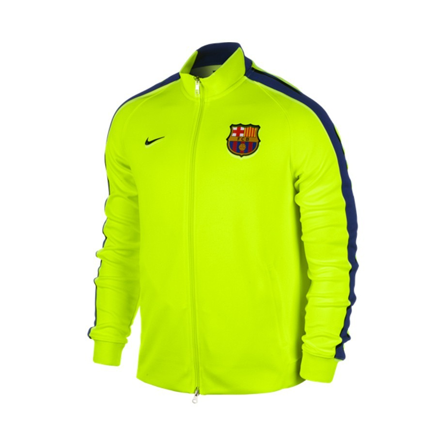 5e19b8ba4b40d Jacket Nike N98 FCB Authentic 2014-2015 Volt-Loyal blue - Tienda de ...