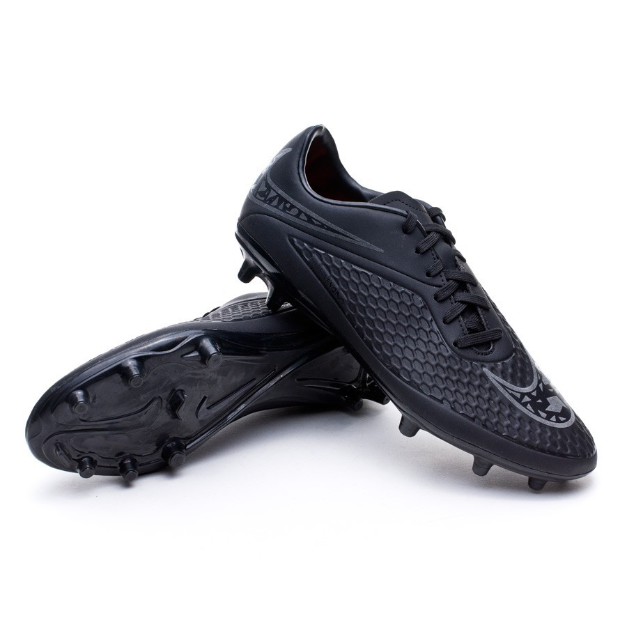7959d5660ade Football Boots Nike Hypervenom Phelon FG Black-Total orange ...