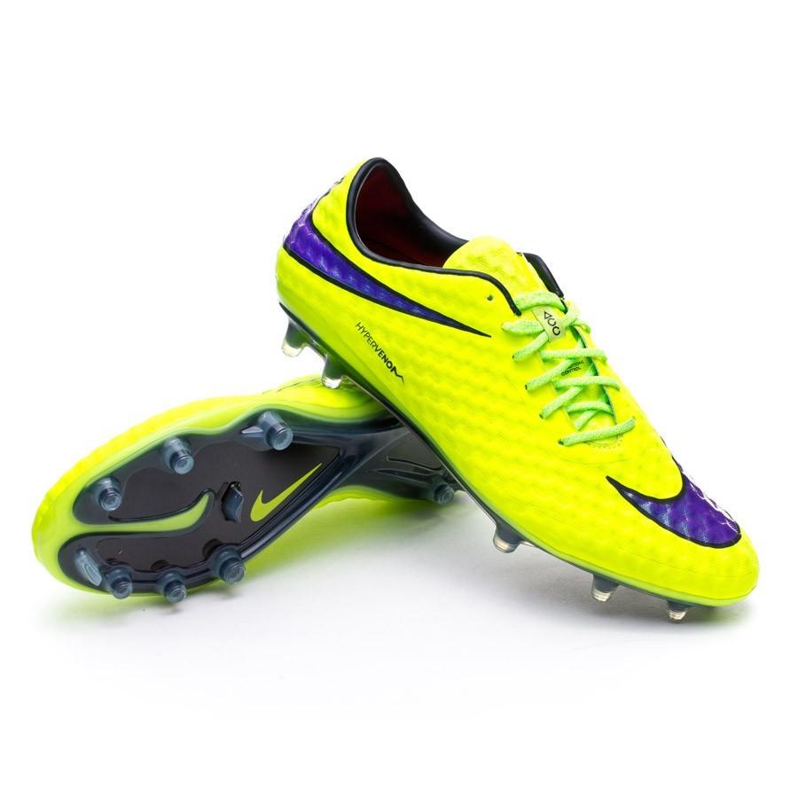 c70181856ae8 Football Boots Nike Hypervenom Phantom FG ACC Volt-Persian Violet ...