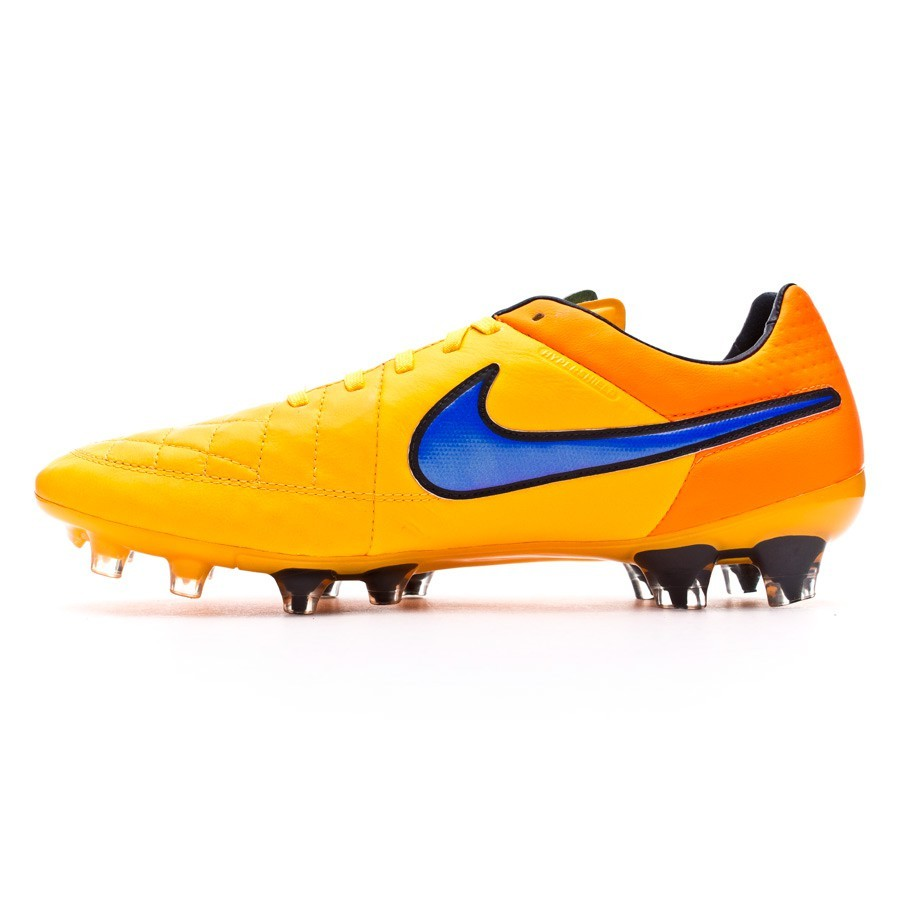 3872fa5472f9 Football Boots Nike Tiempo Legend V FG ACC Laser orange-Persian  violet-Total orange - Football store Fútbol Emotion