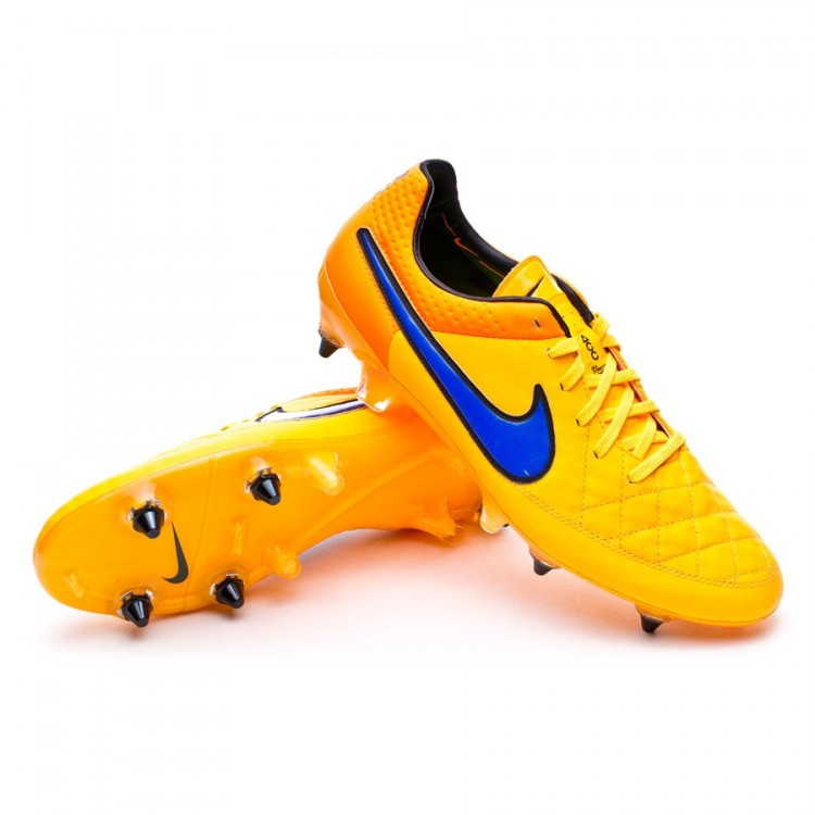 58916682ba9d Football Boots Nike Tiempo Legend V SG-Pro ACC Laser orange-Persian ...