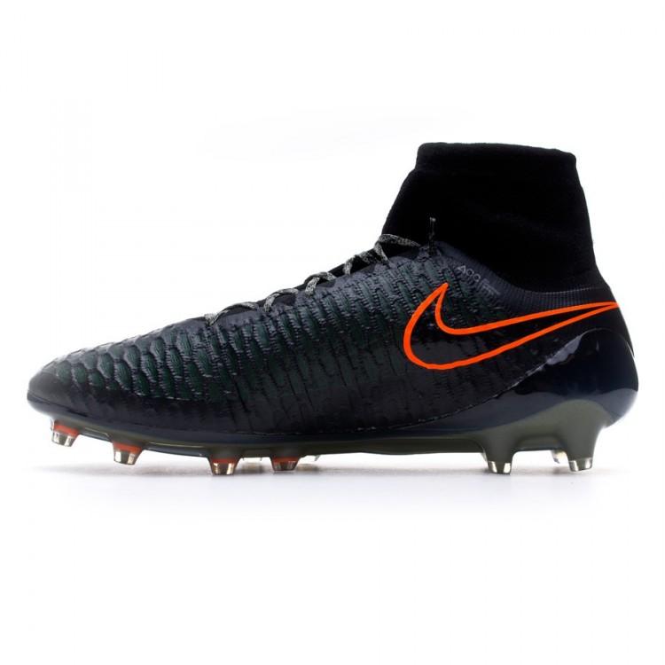 6f7d7b90aca8 Boot Nike Magista Obra FG Black-Rough green-Hyper crimson ...